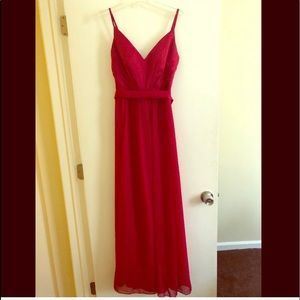 David's Bridal Vera Wang gown
